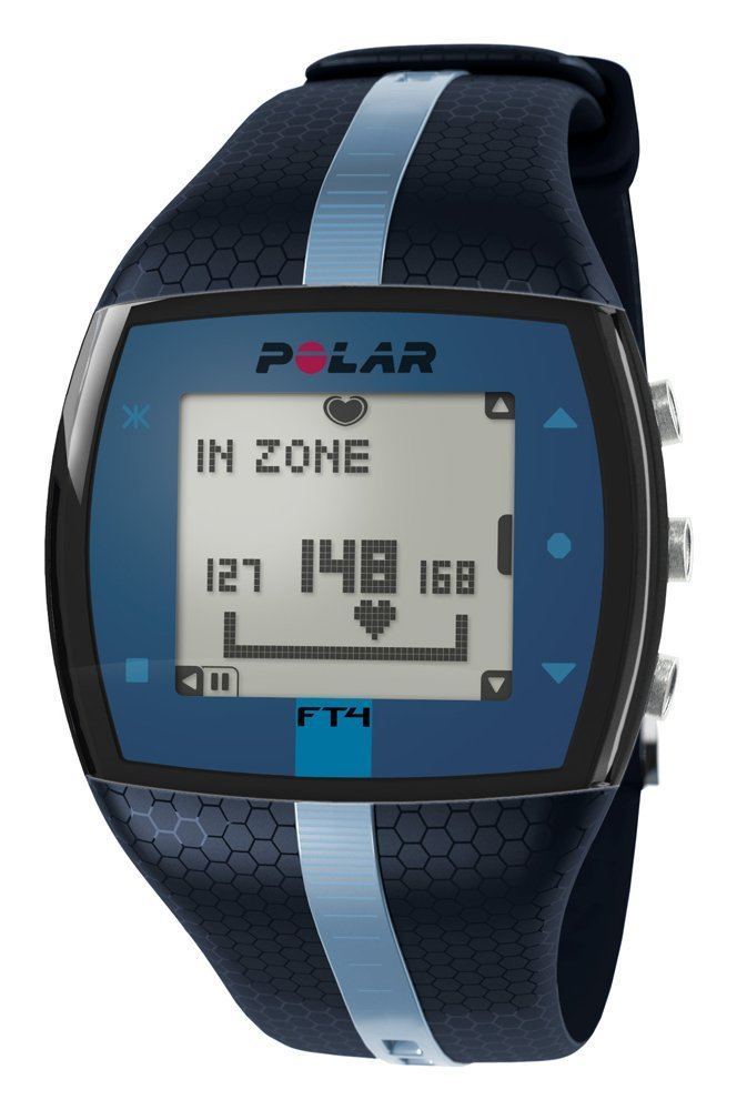 blue version of the Polar FT4 shown here