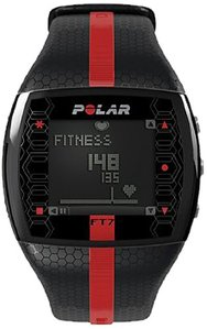Polar FT7 Heart Rate Monitor - black and red pictured