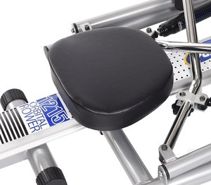 imaging showing comfortable seating on the 1215 Orbital Rower