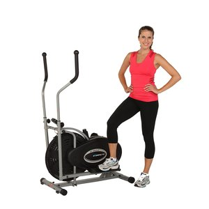 sit back and enjoy the Exerpeutic Aero Air Elliptical indicated here