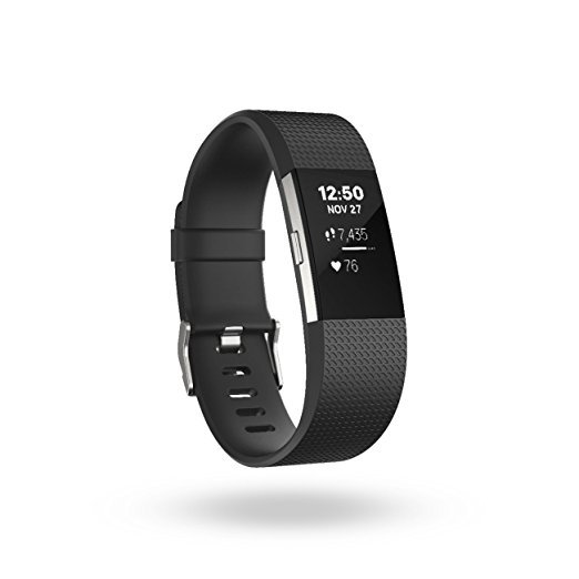 can you spot the features of the Fitbit Charge 2 Heart Rate + Fitness Wristband