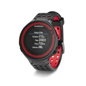 the Garmin Forerunner 220 - Black-Red Bundle in full view