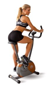 the Marcy Upright Mag Bike is one of the best upright exercise bikes
