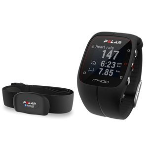 Polar's long range of heart rate monitors is enhanced by the Polar M400 GPreS Smart Sports Watch he