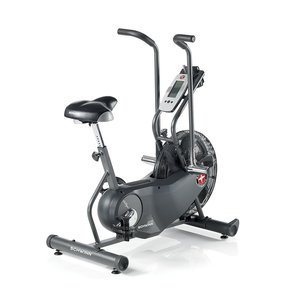 can you spot the Schwinn AD6 Airdyne Upright Exercise Bike shown here? its the best upright exercise bike available