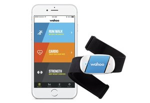 the Wahoo TICKR Heart Rate Monitor for iPhone & Android is another top heart rate monitor with chest strap