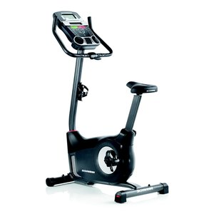picture of an upright exercise bike