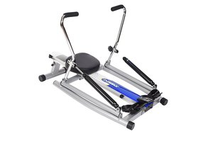 the Stamina 1215 Orbital Rowing Machine with Free Motion Arms is another top rowing machine under $500
