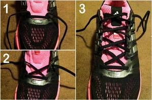 image showing running shoe lacing techniques for wide feet
