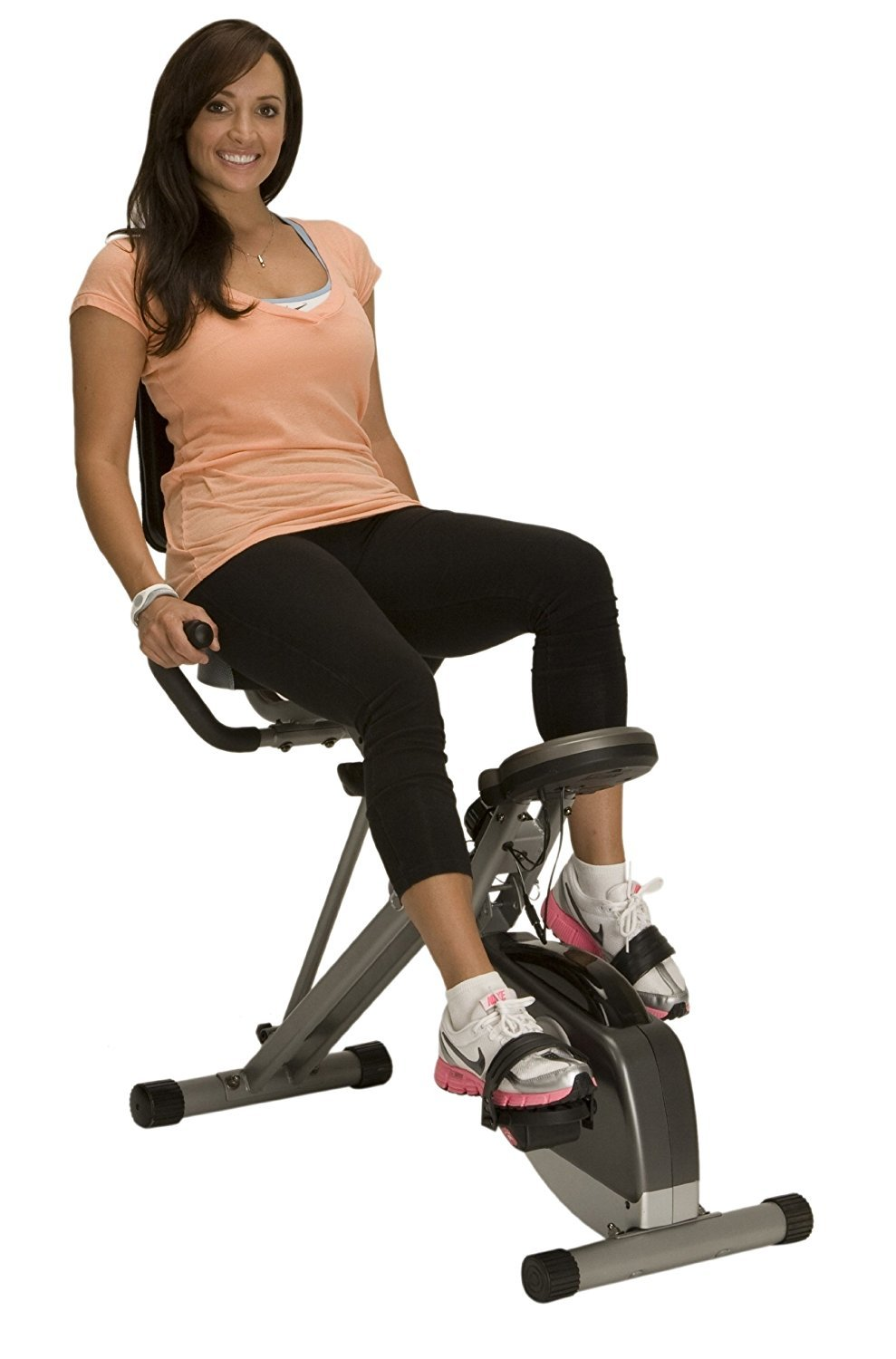 image showing the Exerpeutic 400XL Folding Recumbent Bike