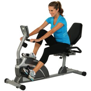 image showing the Exerpeutic 900XL Extended Capacity Recumbent Bike