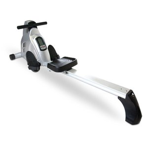 Velocity Exercise Magnetic Rower in full view