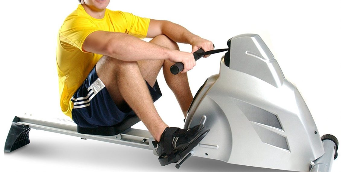 the best magnetic rowing machine in use by woman