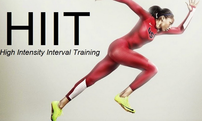 high intensity interval training technique