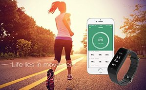 image showing a runner with iPhone pulse monitor