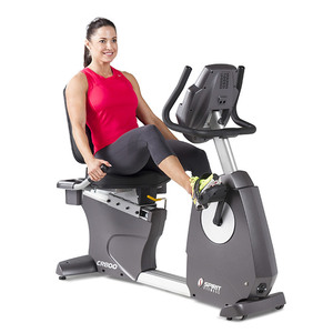 exercise routines on a recumbent