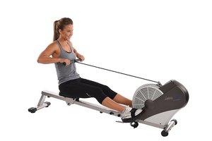 the Stamina ATS Air Rower 1399 in full view