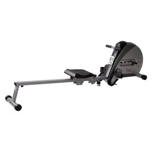 Sunny Health & Fitness SF-RW5606 Elastic Cord Rowing Machine pictured here is one of the best cheap rowing machines
