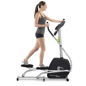 can you see the physical features of the Universal E40 Elliptical
