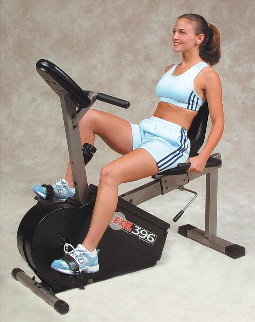 woman implementing some of the best recumbent weight loss tips