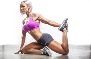 woman with well toned muscles from recumbent workouts
