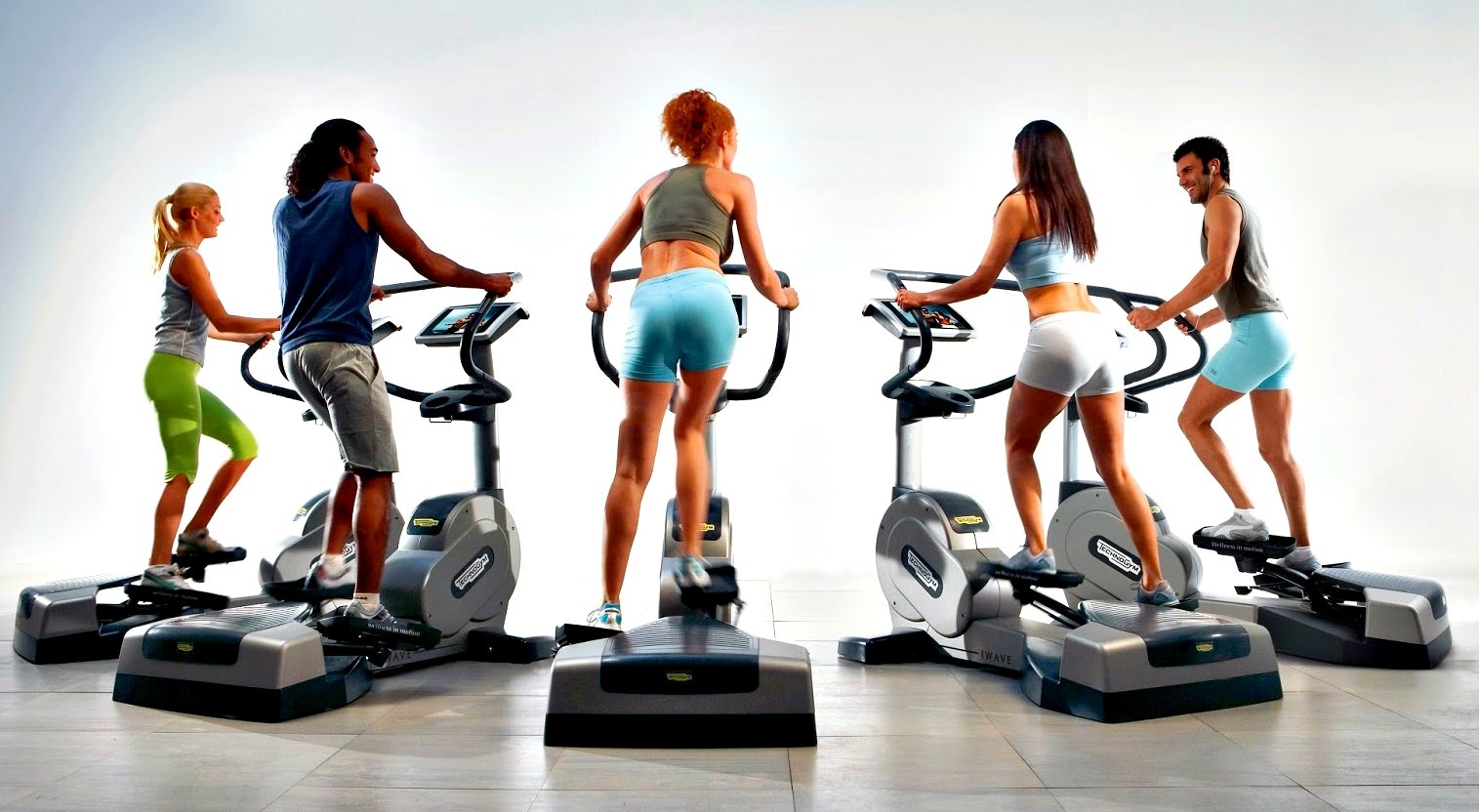 folks working on elliptical trainers with back problems